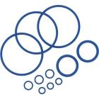 Sada tesniacich krúžkov obsahuje 11 tesniacich krúžkov rôznych veľkostí pre vaporizér Mighty